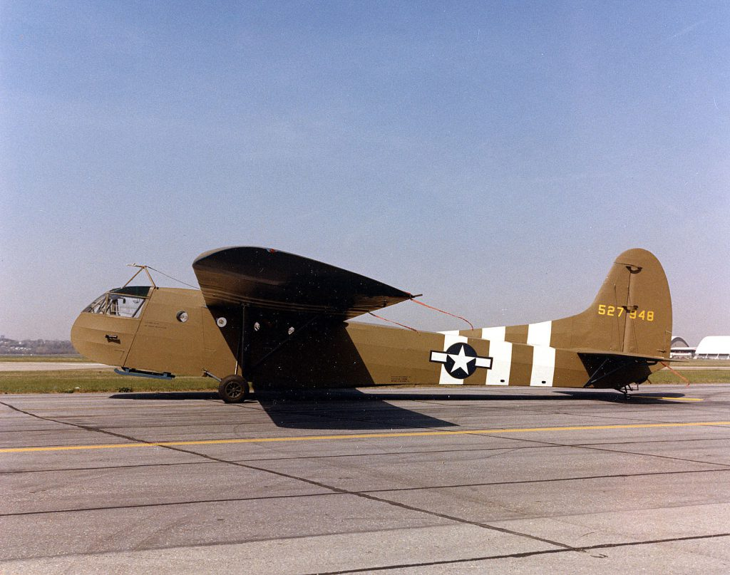DAYTON, Ohio - Waco CG-4A at the National Museum of the U.S. Air Force (U.S. Air Force photo)